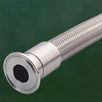 APFOS Stainless Steel Overbraided PTFE Hose