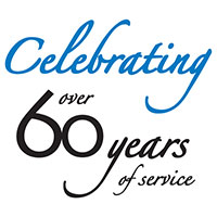 celebrating 60 years of service 1954-2014